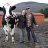 Jenny & Doug with Dylan the steer