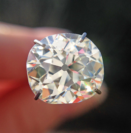 3.04ct Antique Cushion Cut Diamond, GIA M VVS2