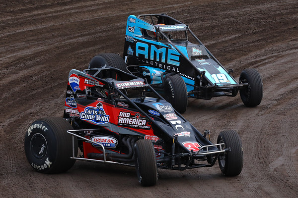 USAC National Sprint Cars at Tri-State Speedway