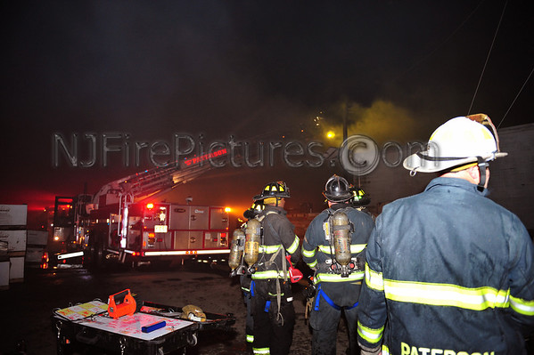 PATERSON, NJ 3RD ALARM 518 EAST 35TH ST. 12/27/12