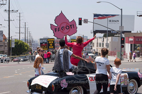 Christopher Street West/L A Pride Parade 2014