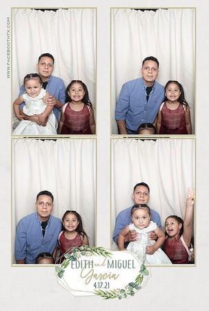 Edith & Miguel Garcia Wedding 4/17/21