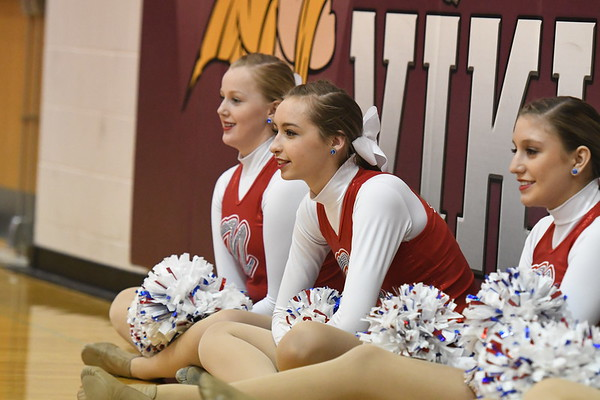 Dance Team - Beatrice Districts Basketball game