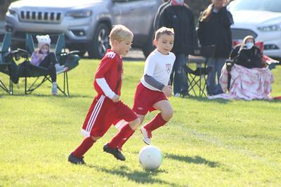 Wilson Soccer Action Shots