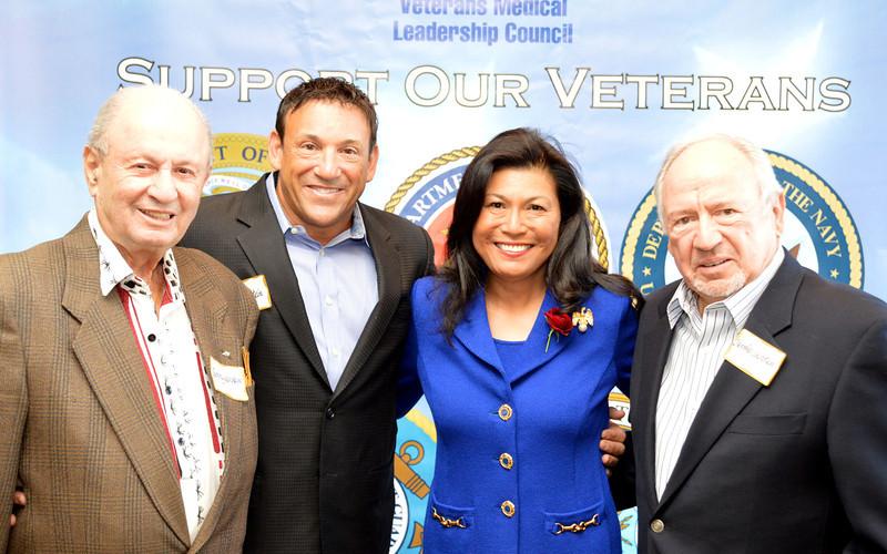 Harold, Neal & Sammy Weinstein with Dr. Mariano