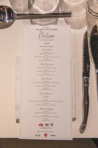 Italian Masters Dinner