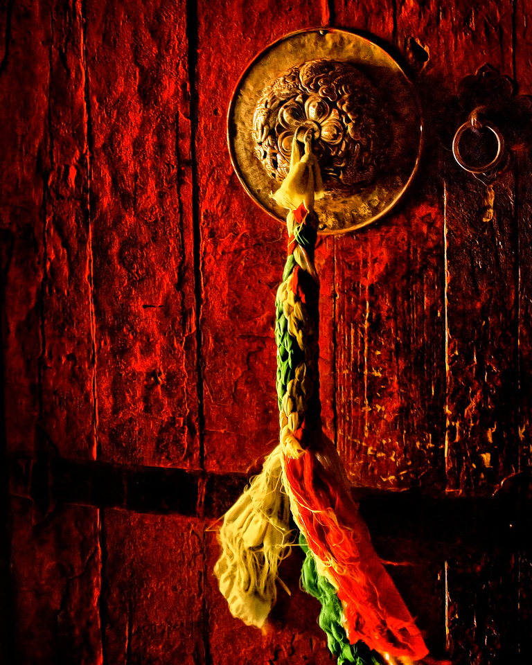 """The Door to Paradise""<br /> <br /> Hemis Monastery, Ladakh."