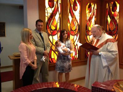 Ethan Baptism 5/12/2013