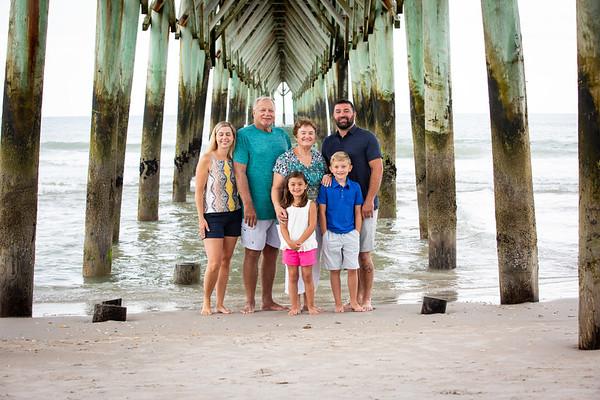 Andrea family Photos at Topsail Island NC