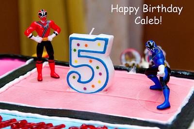 Caleb's 5th: December 10, 2011