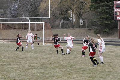 Girls JV Soccer - 2005-2006 - 3/28/2006 vs. Hart