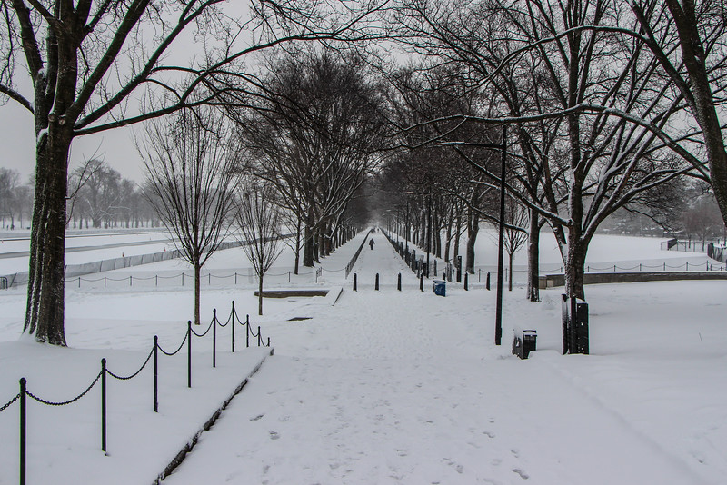March Snowstorm - The Mall