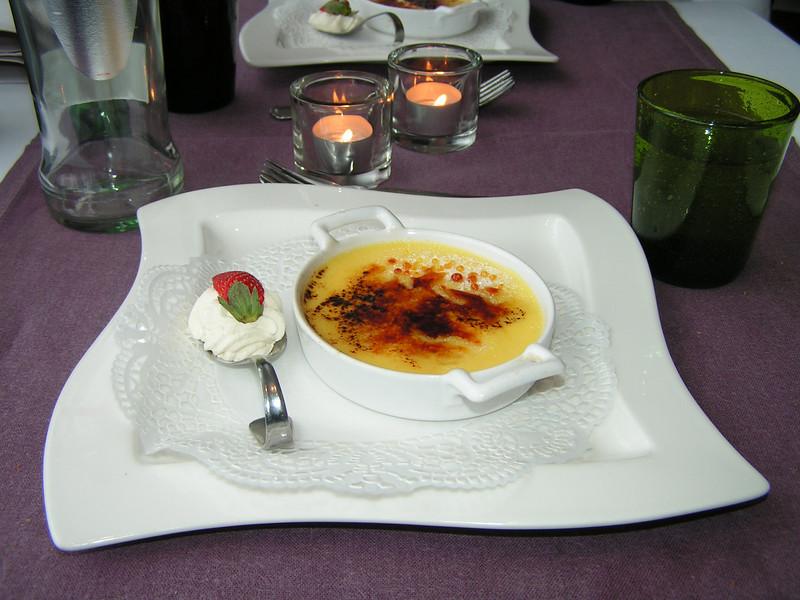 """""""Dessert van de dag: Crème brûlée"""" (Lunch-02-01-2009)"""
