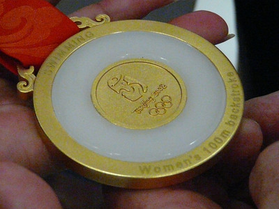 Natalie Coughlin swimming events and GOLD MEDAL!