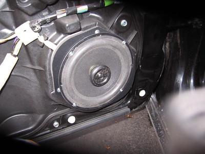 2008 Mazda 3 hatchback Front Door Speaker And Tweeter Installation