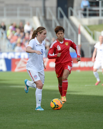 USA Women vs China PR - Soccer - April 6, 2014