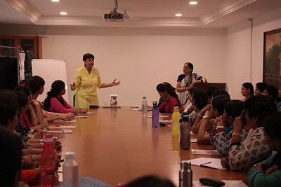 Workshop by Arti for Pre-Primary Teachers