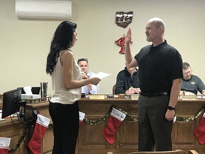 Medina Township gets grant, swears in new trustee
