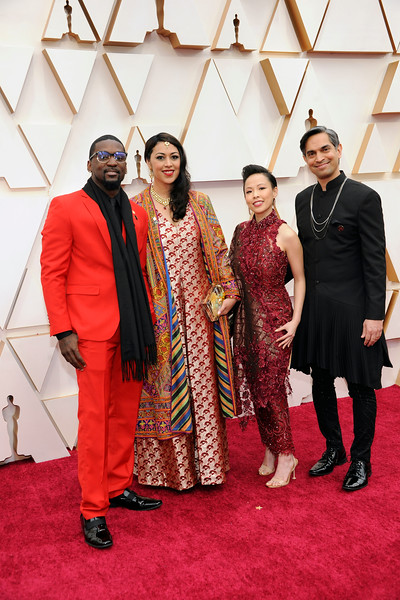 RED CARPET ARRIVALS AT THE DOLBY THEATRE FOR THE 92ND OSCARS ON FEBRUARY 9, 2020. PHOTOS BY VALERIE GOODLOE
