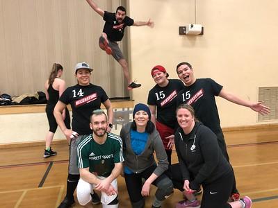 Tuesday Night Dodgeball Winter 2018