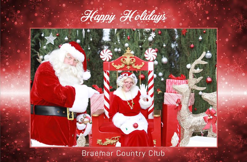 12/13/20 - Braemar Country Club Happy Holidays