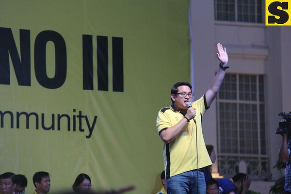 Team PNoy-BOPK rally in Cebu (April 19, 2013)