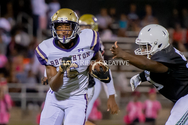 Broughton Varsity football at Southeast Raleigh. October 4, 2019. D4S_5059