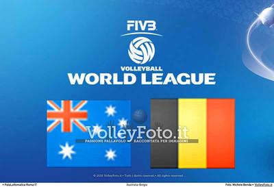 AUSTRALIA-BELGIO [AUS-BEL] #FIVBWorldLeague