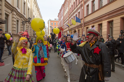 Fool's Day St. Petersburg, 2017