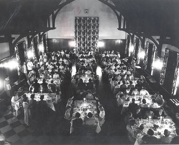 Bemis dining hall in 1955