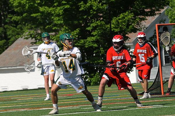 BBA Boys Varsity Lacrosse Playdown vs RHS photos by Gary Baker
