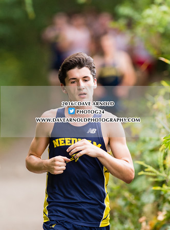 9/14/2016 - Boys Varsity Cross Country - Brookline, Dedham, Milton, Needham