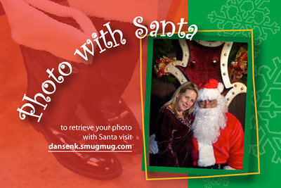 2011 Longevity Wines Photo with Santa