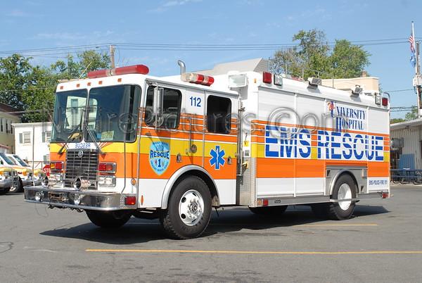 EMS/RESCUE SQUAD/FIRST AID SQUAD APPARATUS