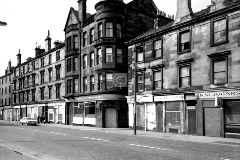 Govan Rd, north side west of Stag St .  July 1975