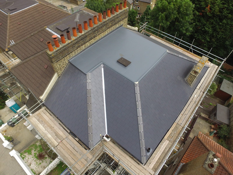 GRP Roof - Synthetic Slate