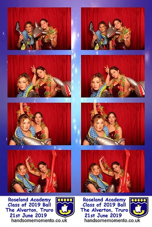 Roseland Academy  Year 11 Leavers Ball at The Alverton, Truro 21-06-19