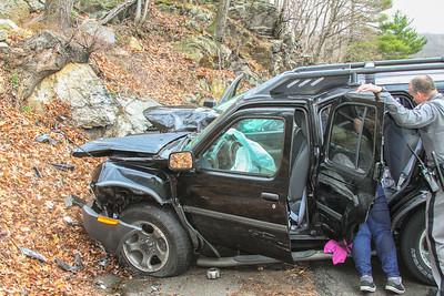 4-12-17 MVA With Injuries, Bear Mountain Bridge Road, Photos By Bob Rimm