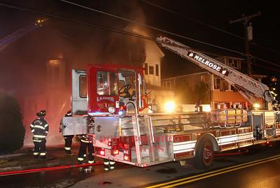 Melrose, MA - 3rd Alarm 504 Lebanon Street, 3-3-18