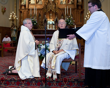 Fr. Mike Celebrating 25 years a Franciscan