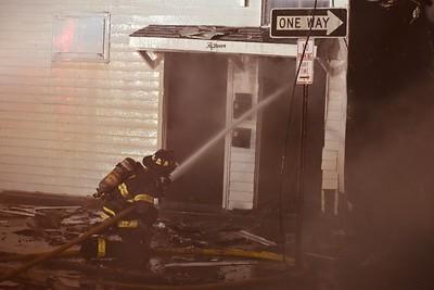 Poughkeepsie Multiple Alarm, Duane Street