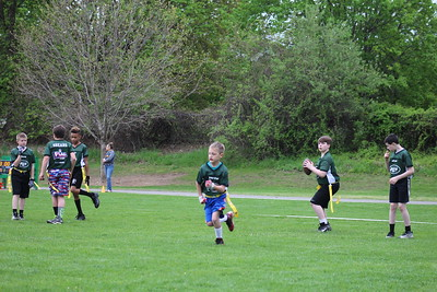 Flag Football game one and game two JETS