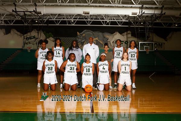 2020-2021 Girls JV Basketball