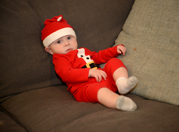 Casey 1st Christmas
