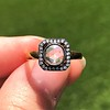 .53ctw Rose Cut Halo Ring, by Single Stone 4