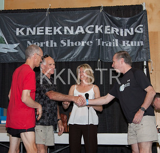 July 10, 2010 - Banquet - Knee Knackerers who completed this race 20 times!
