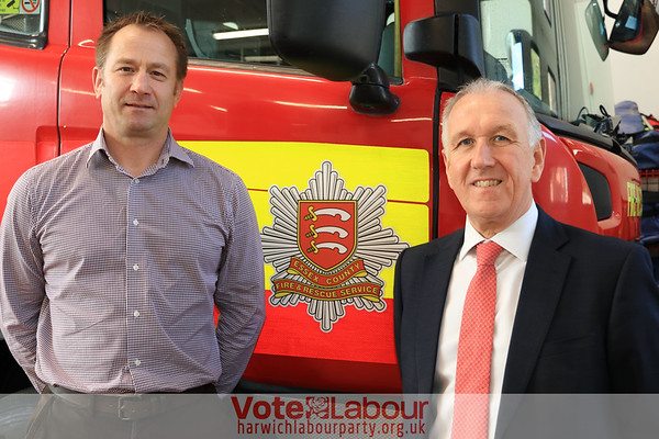 Your local fire-fighters urge you to vote for Ivan on 4th May