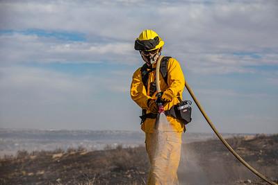 RidgeGate Brush Fire