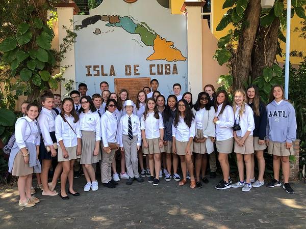 7th Grade Field Trip to Ybor 2019