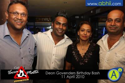 Deon Govenders Birthday Bash